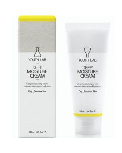 Youth Lab Deep Moisture Cream για Ξηρό και Ευαίσθητο Δέρμα 50ml