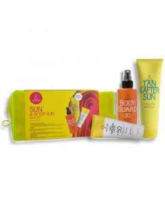 Youth Lab Πακέτο Promo Sun & After Sun Set Αντιηλιακή Κρέμα Προσώπου Spf50 50ml & Αντιηλιακό Γαλάκτωμα Σώματος Spf30 200ml & Δώρο After Sun 150ml