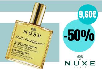 Nuxe Huile Prodigieuse Ξηρό Λάδι Για Πρόσωπο Σώμα & Μαλλιά 50ml  | Dpharmacy.gr